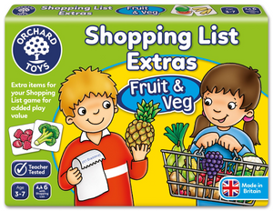 Shopping List Extra fruit and veg - The Tiny Toy Store
