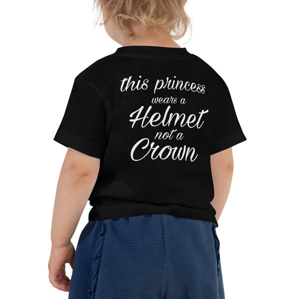 Helmet Princess - Toddler Tee