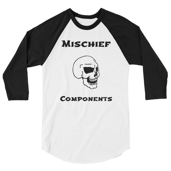 3/4 Skull Sleeve Shirt