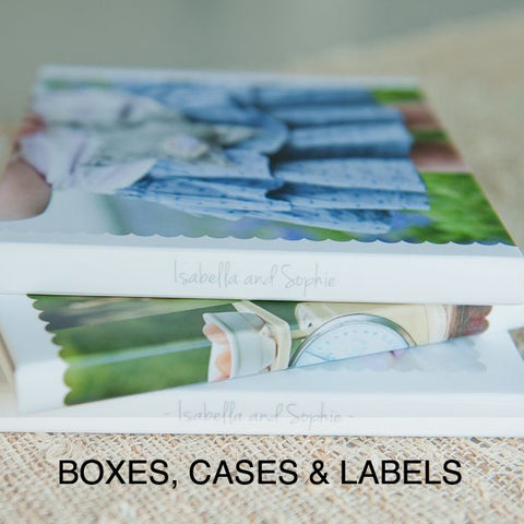 BOXES, CASES & LABELS