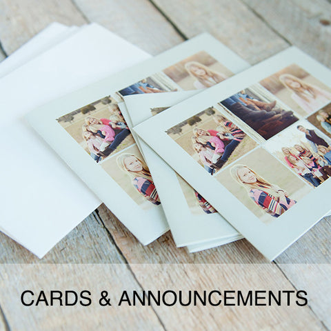 CARDS & ANNOUNCEMENTS