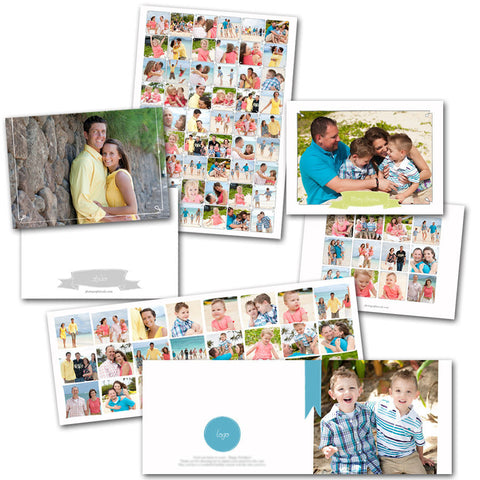 collage cards templates for photoshop