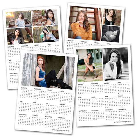 2017 photo calendars for photographers