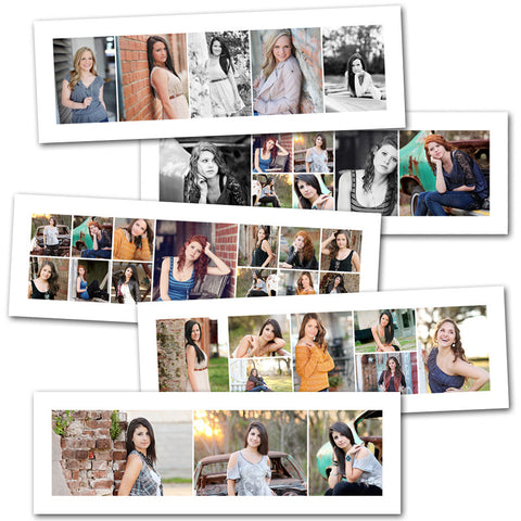 modern 10x30 storyboard collage photoshop templates