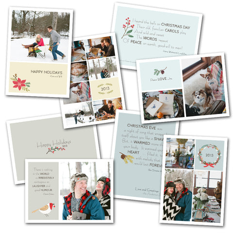 Country Holiday Card Set