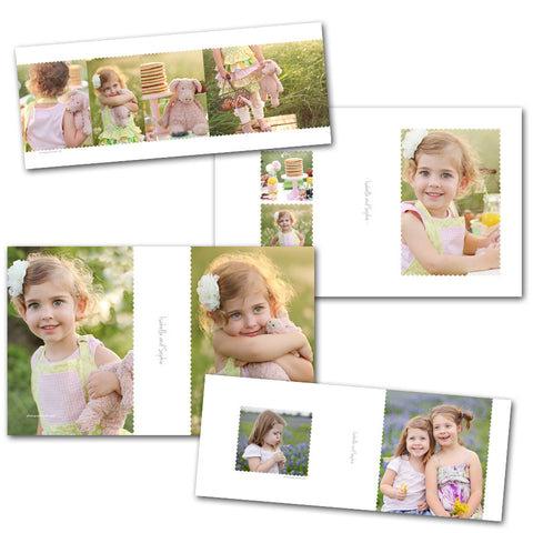 5x7 and 4x6 custom image box templates