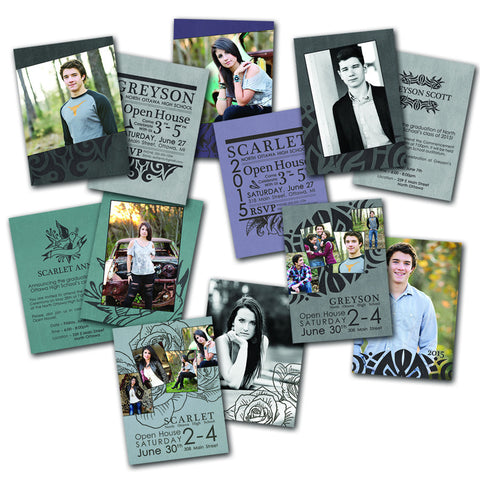 Ink Grad Card Set