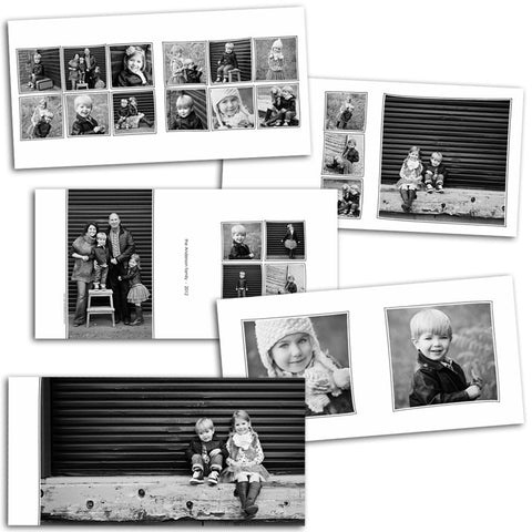 photo album layout design