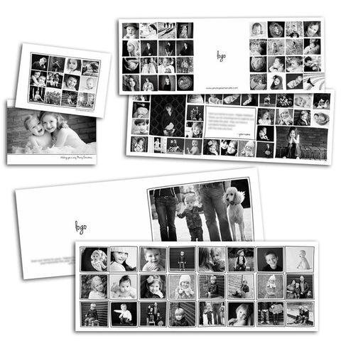 portfolio collage templates