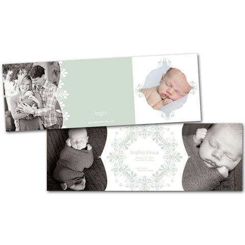 announcement cards for newborns and photographers
