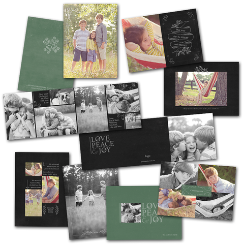 modern chalkboard art card templates