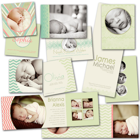 adorable infant cards for bay photo