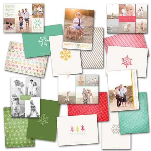 Jolly Holiday Card Set
