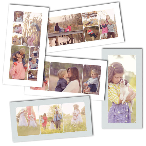 10x20 photo collage storyboard photoshop templates