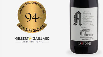 Gilbert Gaillard 2019 - 94 Points Medal