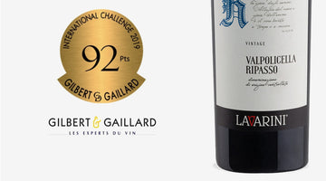 Gilbert Gaillard 2019 - 92 Points Medal