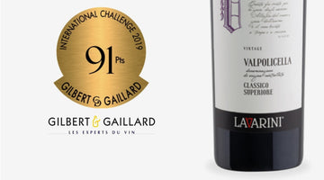 Gilbert Gaillard 2019 - 91 Points Medal