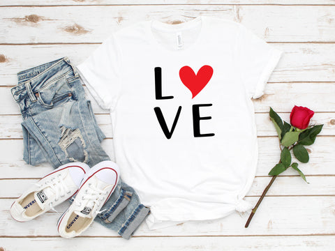 Love With Heart T-Shirt