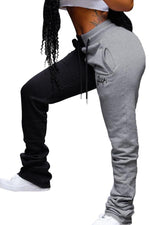 Colorblock Stacked Joggers