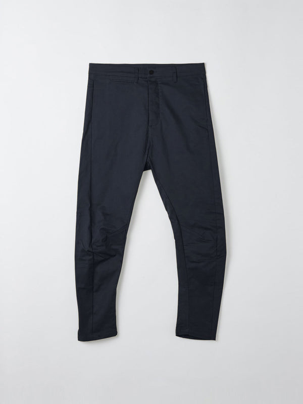bassike helix pant in navy