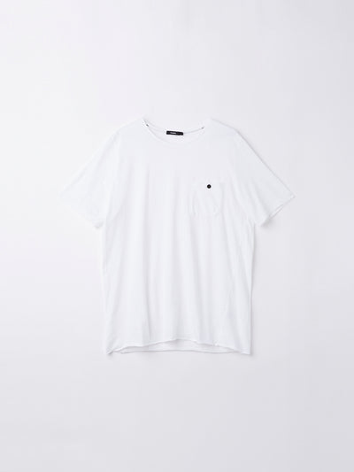 original button pocket t.shirt