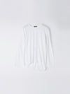 wide heritage french seam long sleeve t.shirt