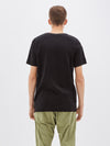 bassike original button pocket t.shirt in black