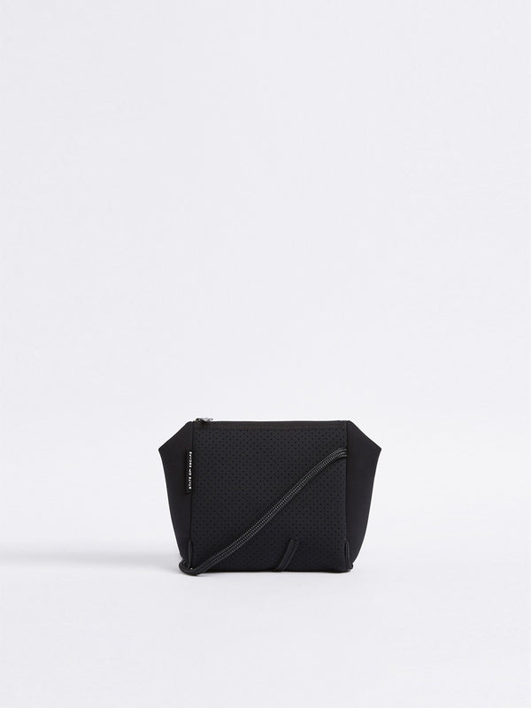 bassike state of escape festival crossbody in black