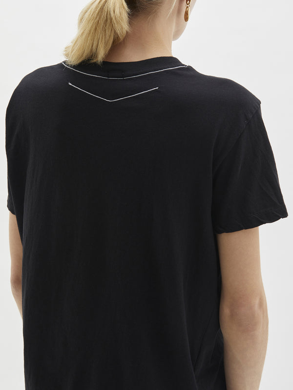 wide heritage slim short sleeve t.shirt