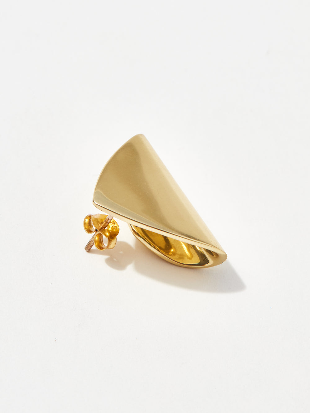 louise olsen large shield stud