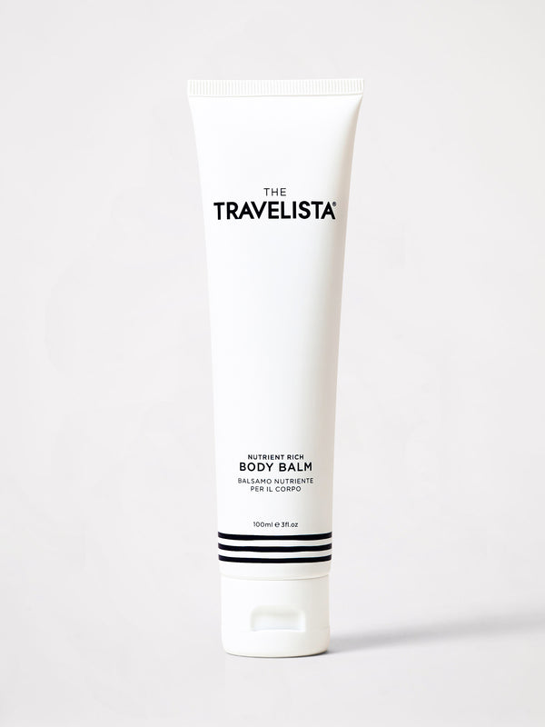 bassike the travelista travel set in white