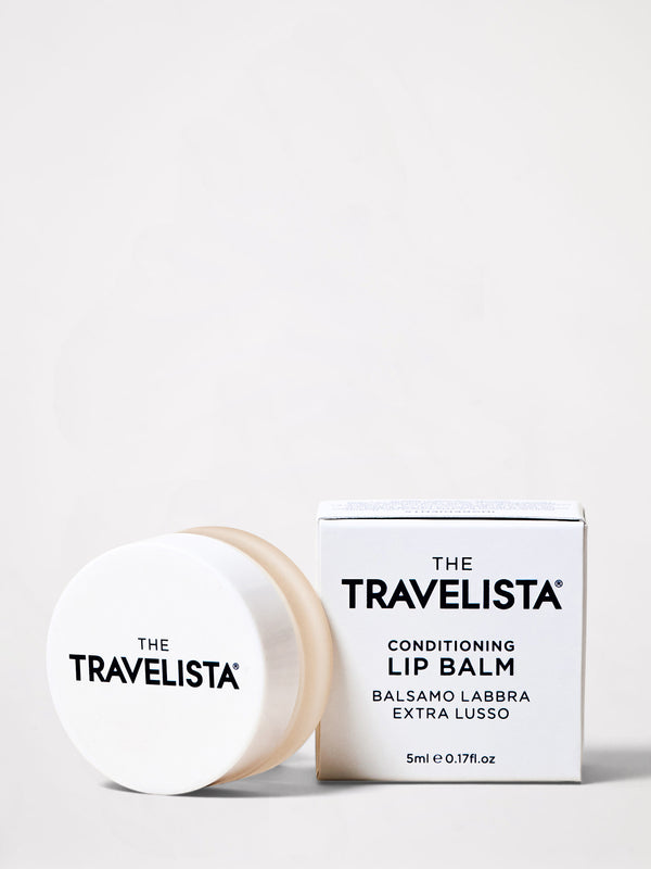 bassike the travelista conditioning lip balm in white
