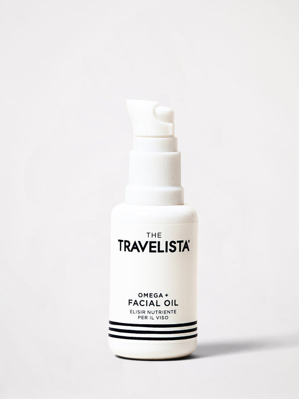 the travelista omega and facial oil