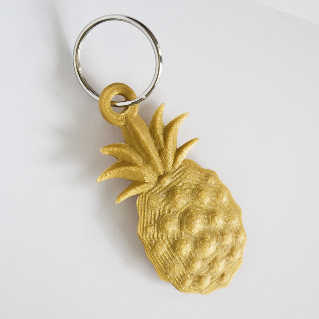 Pineapple Bling Keychain