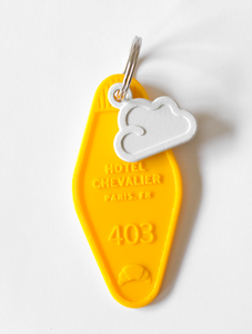 Chevalier in the Sky Keychain