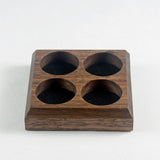 Walnut Token Tiles - 4 Pack