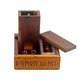 Runes, Swords, Knots, Cherry and Walnut- Combo Pack
