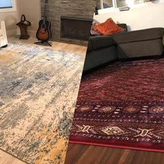 DOES MY HOME LOOKS TRADITIONAL OR MODERN WITH A RUG??