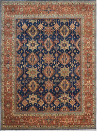 India Mahal 10x14 hand Knotted Wool