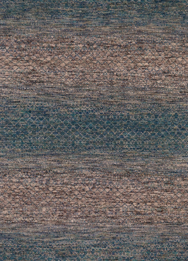 India Amazon Hand Knotted Wool 8X10 Green