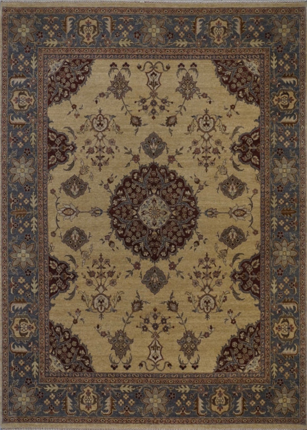 India Imperian Hand Knotted Wool 8X10
