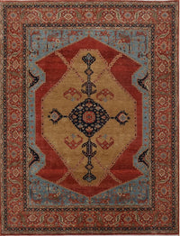 India Serapi 9x12 Hand Knotted Wool