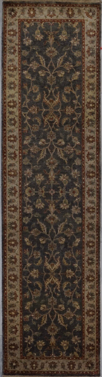 India Chobi Hand knotted Wool 3X10
