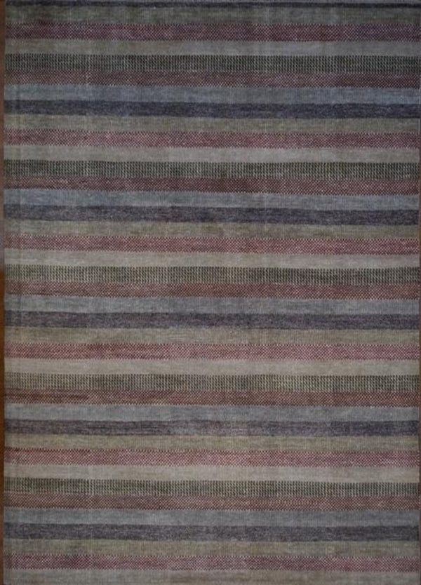 India Hand Knotted Wool 8x10
