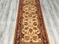 Pakistan 2.9 x 18.1 Hand Knotted Wool