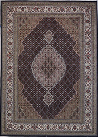 India Tabriz Mahi 6x8 wool/silk