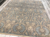 India Ottoman Hand Knotted Wool 8X10