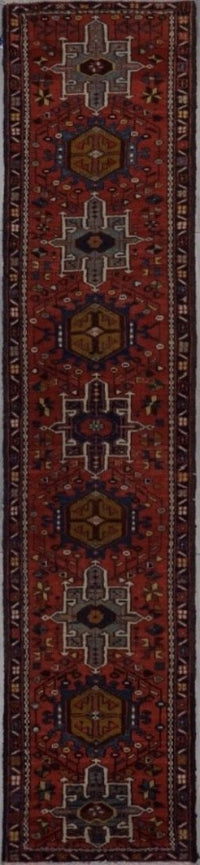 Old Persian Garechi Hand Knotted Wool 3X10