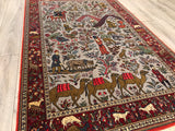 Persian Qum 5x8 Hand Knotted