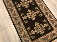 Pakistan Ziegler 2.10 x 19.0 HAND KNOTTED WOOL